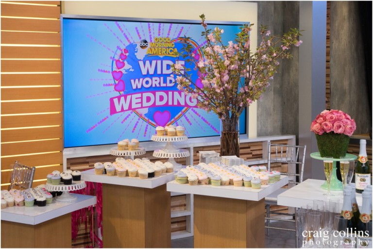 Photographing Good Morning America's Wide World of Weddings