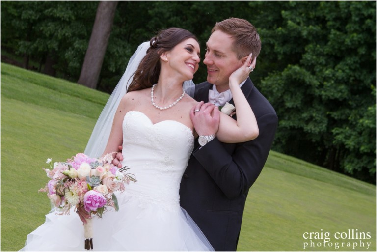 Laura and Nicholas' Knoll Country Club Wedding