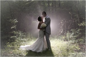 Tiffany and Matthew's Misty Wedding at Rock Island Lake Club