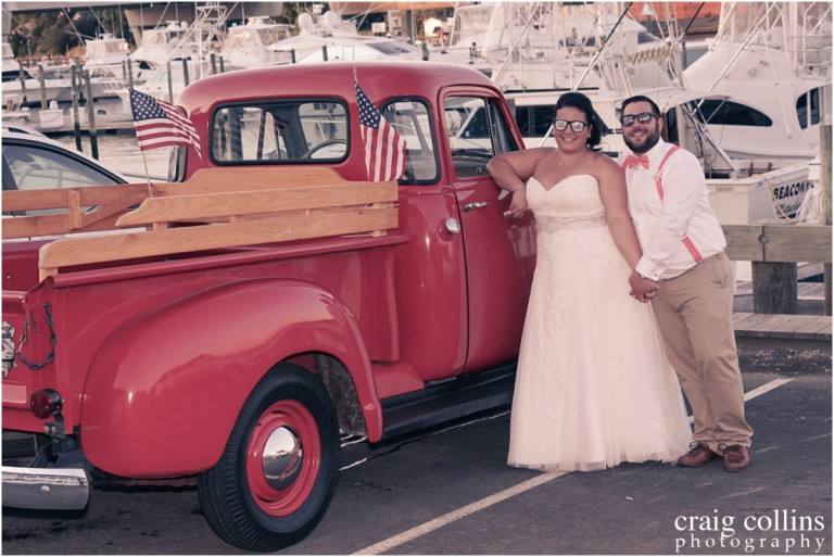 Dani and Robert's Crystal Point Yacht Club Wedding