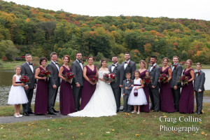 Kaitlin and Nik's Autumn Wedding at Rock Island Lake Club