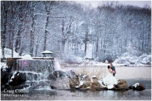 First Snow: Marissa and Joseph's Wedding at Rock Island Lake Club