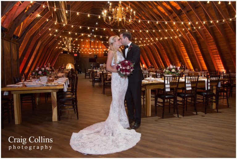 Rustic Elegance: A Winter Barn Wedding at Perona Farms