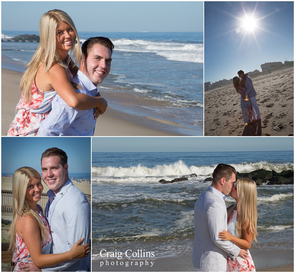 Engagement photo Long Branch NJ